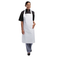 Whites Bib Apron White