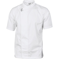 DNC Tunic Chef Jacket Short Sleeve White