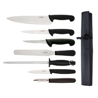 Hygiplas Starter Knife Set with 250mm Cooks Knife & Wallet