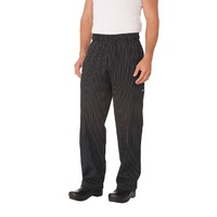 Chef Works Pinstripe Designer Baggy Chef Pants