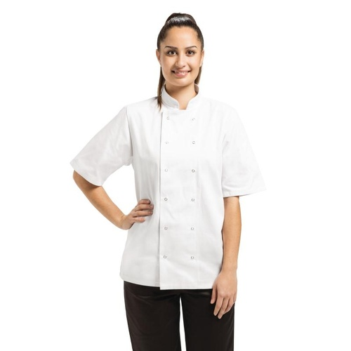Whites Vegas Chef Jacket Short Sleeve [Size: XXL]