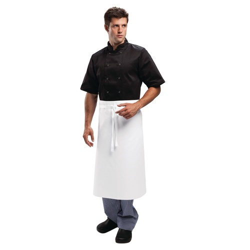 Regular 3/4 Waist Apron White