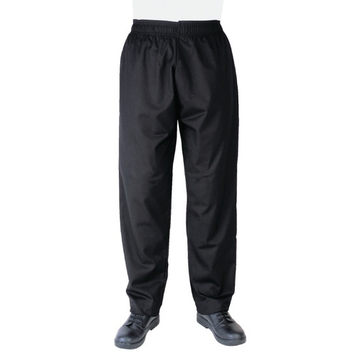 Black Vegas Chefs Pants