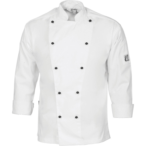 DNC Traditional Chef Jacket Long Sleeve White