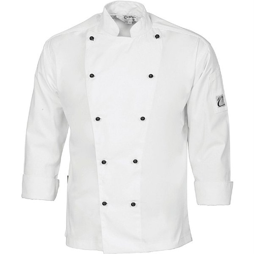 COOL-BREEZE COTTON CHEF JACKET - LONG SLEEVE